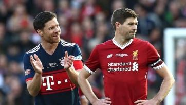 Матч между легендами «Ливерпуля» и «Баварии» завершился мировой