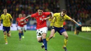 Швеция проиграла Чили в товарищеском матче