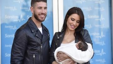 Рамос сообщил о рождении своего третьего сына