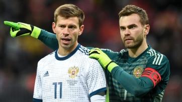 Стало известно, кто из россиян выйдет на поле с капитанской повязкой в матче с Францией