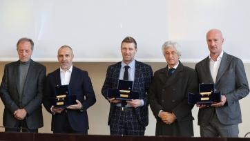 Массимо Каррера получил почётную награду в Италии