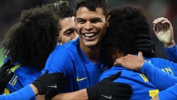 Тьяго Силва: «Приятно вернуться в Москву капитаном сборной Бразилии»