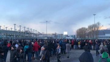 Стали известны причины задержек при входе на стадион в Питере
