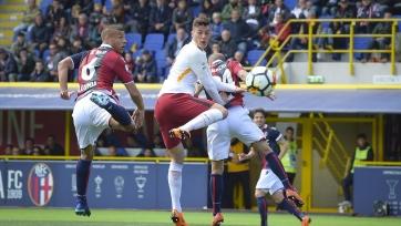 «Рома» сыграла вничью на выезде с «Болоньей»