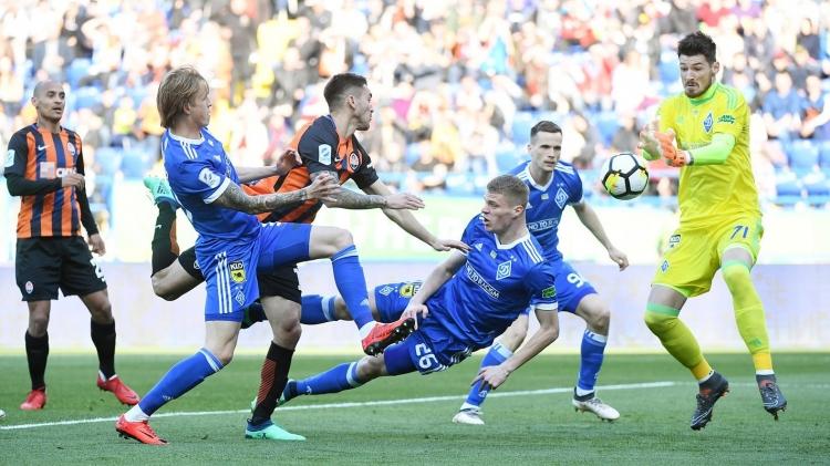 Динамо Киев минимально обыграло Шахтёр