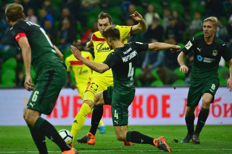 «Краснодар» добился успеха в игре с «Арсеналом»