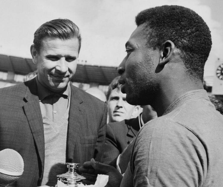 Наши герои Чемпионатов мира. 1958: Лев Яшин
