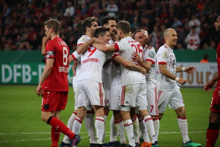«Бавария» уничтожила «Байер», отправив в ворота соперника 6 мячей