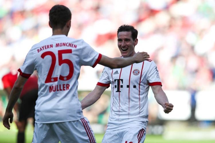 «Бавария» крупно выиграла у «Ганновера»