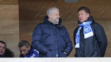 Представители «Зенита» Миллер и Фурсенко попали в санкционный список США