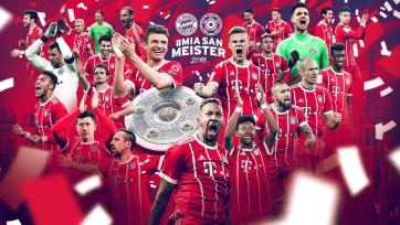 «Бавария» разгромила «Аугсбург» и стала чемпионом Германии