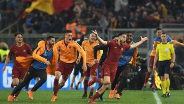 «Рома» забила три мяча «Барселоне» и выбила каталонцев из Лиги чемпионов