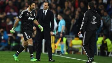 Буффон – судье матча «Реал» - «Ювентус»: «Нельзя иметь мусорное ведро вместо сердца»