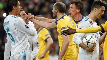 Игроки «Реала» и «Ювентуса» устроили потасовку после матча