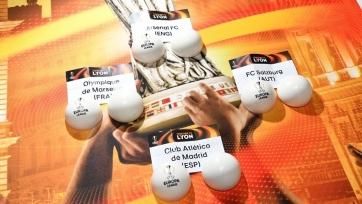 Итоги жеребьёвки полуфинала Лиги Европы