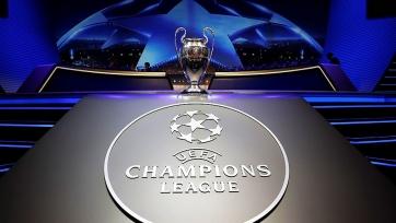Результаты жеребьёвки полуфинальных пар Лиги чемпионов
