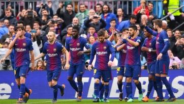 «Барселона» забила два мяча «Валенсии»