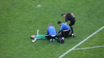 Лунёв снова получил травму