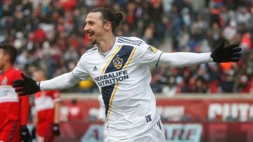 Ибрагимович забил свой третий гол в MLS (видео)
