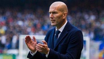 Зидан добыл сотую победу в качестве наставника «Реала»
