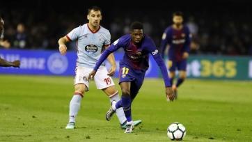 «Барселона» вдесятером сыграла вничью с «Сельтой»