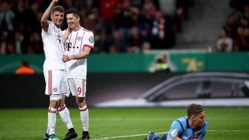 Мюллер отреагировал на разгромную победу «Баварии» над «Байером»