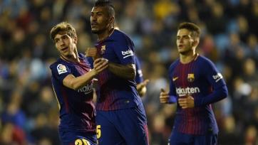 В матче между «Сельтой» и «Барсой» произошло уникальное событие для каталонского коллектива