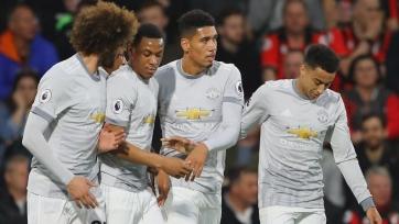 «Манчестер Юнайтед» обыграл «Борнмут»