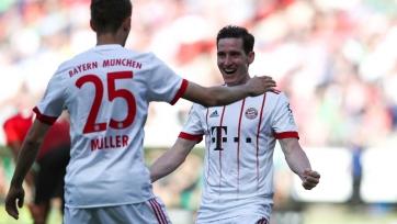 «Бавария» крупно выиграла у «Ганновера» и другие результаты матчей Бундеслиги