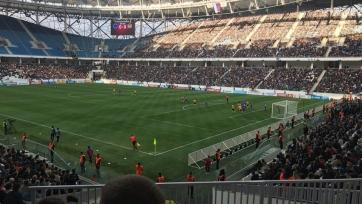 В Волгограде состоялась церемония открытия ещё одного современного российского стадиона