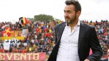 Де Дзерби: «Победа над «Миланом» останется в истории «Беневенто»