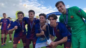 «Барселона» разгромила «Челси» в финале Юношеской Лиги чемпионов