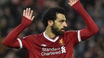Салах вышел на второе место в истории «Ливерпуля» по голам за сезон