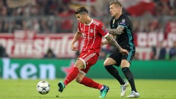 Хамес прокомментировал результат матча «Бавария» - «Реал»