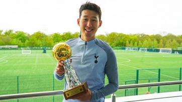 Сон Хын Мин признан лучшим игроком Азии