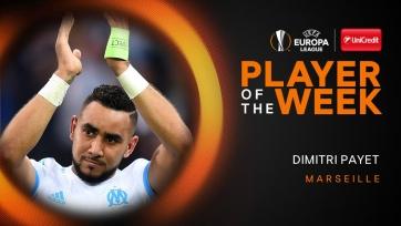 Пайе – футболист недели в Лиге Европы