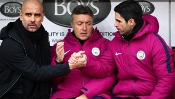 Гвардиола намерен удержать Артету в «Манчестер Сити»