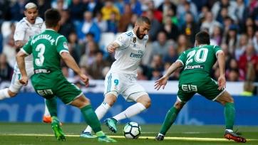 «Реал» без Роналду победил «Леганес»