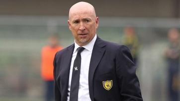 «Кьево» уволил главного тренера команды
