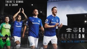 «Эвертон» представил форму на следующий сезон