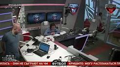 100% Футбола. Нобель Арустамян о финале Кубка России и Серии А (08.05.2018)