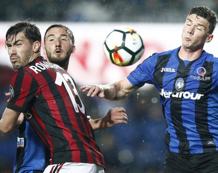 «Аталанта» и «Милан» поделили очки