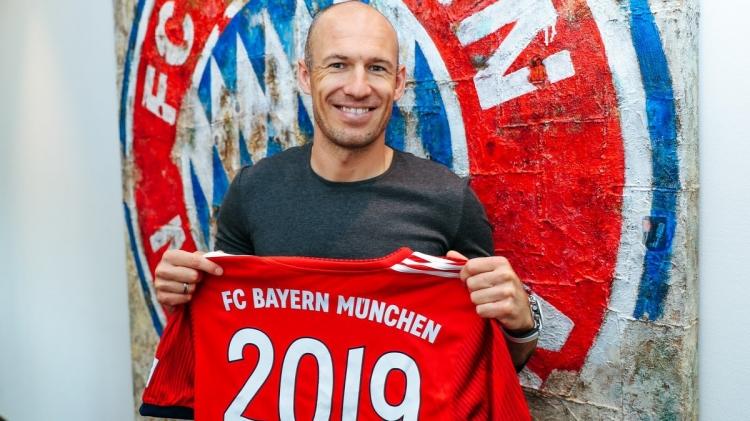 Роббен продлил контракт с «Баварией»