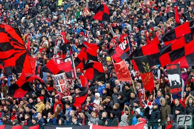 «Амкар» переиграл «Тамбов» в первом переходном матче