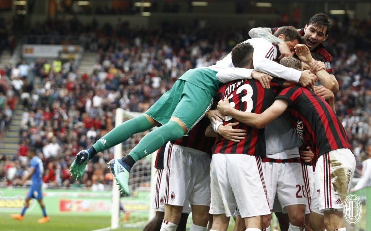 «Милан» разгромил «Фиорентину», «Кротоне» вылетел из Серии А