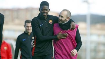 «Барселона» расстанется с Дембеле, если сможет приобрести Гризманна