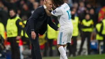 Зидан: «Здорово, что в раздевалке «Реала» есть такой футболист и человек, как Марсело»