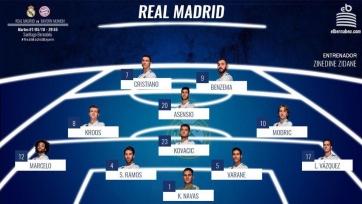 «Реал» - «Бавария». Стартовые составы команд