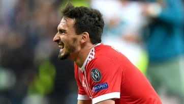 Хуммельс: «Для победы в Лиге чемпионов нужен инстинкт убийцы»