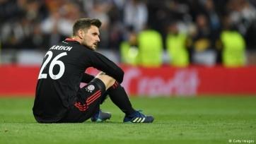 Ульрайх извинился за свою ошибку в матче против «Реала»